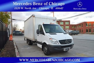Used Mercedes-Benz Sprinter Chassis-Cabs Box Truck