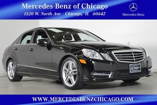 Certified Pre-Owned 2013 Mercedes-Benz E-Class E550 Sport 4MATIC All Wheel Drive Sedan