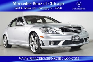 Pre-Owned 2008 Mercedes-Benz S-Class 6.3L V8 AMG Rear Wheel Drive Sedan