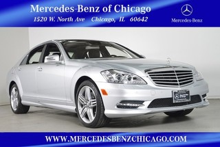 Certified Pre-Owned 2013 Mercedes-Benz S-Class S550 4MATIC All Wheel Drive Sedan