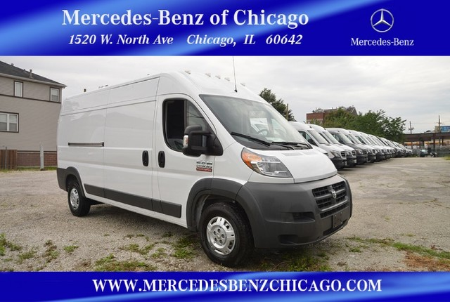 Pre-Owned 2014 Ram ProMaster Cargo Van High Roof Front Wheel Drive Minivan/Van