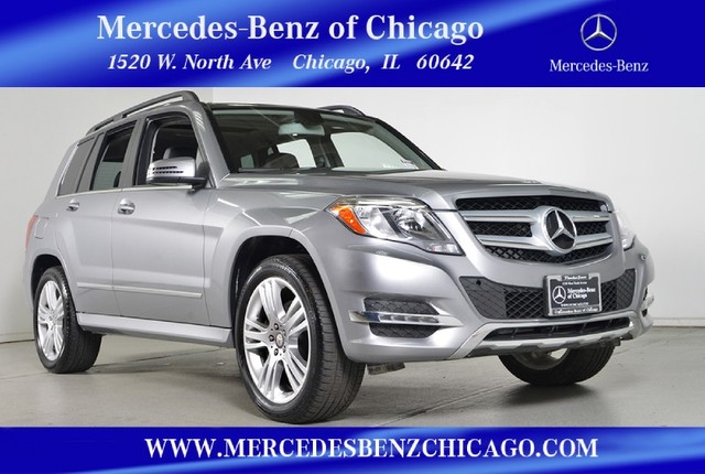 Certified Pre-Owned 2015 Mercedes-Benz GLK-Class GLK350 4MATIC All Wheel Drive SUV