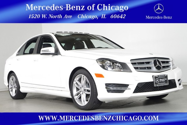 Certified Pre-Owned 2013 Mercedes-Benz C-Class C300 Sport 4MATIC All Wheel Drive Sedan