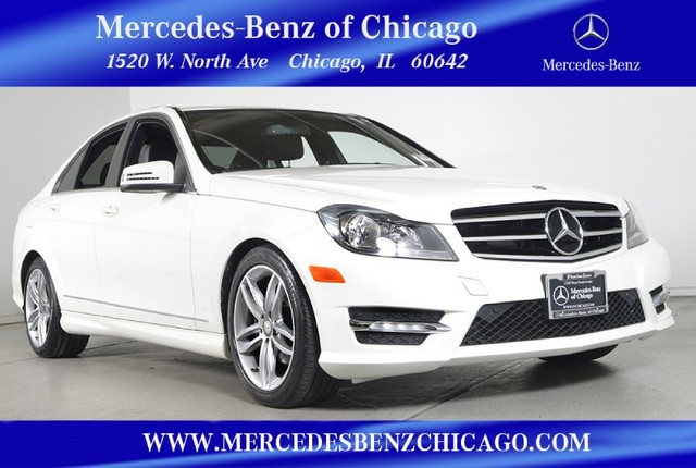 Certified Pre-Owned 2012 Mercedes-Benz C-Class C300 Sport 4MATIC All Wheel Drive Sedan
