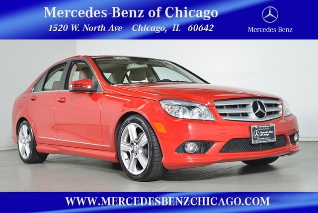 Pre-Owned 2010 Mercedes-Benz C-Class C300 Sport 4MATIC All Wheel Drive Sedan